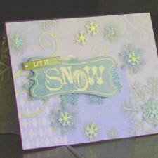A Beautiful Winter Card